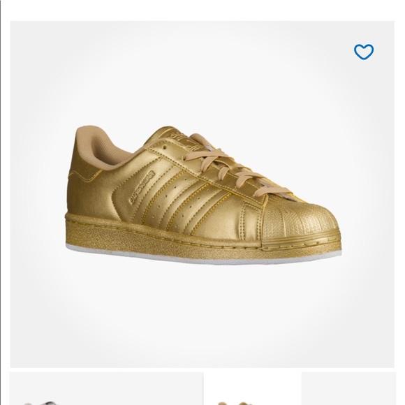 Gold Superstar Adidas